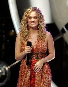 Carrie Underwood American Idol Performance Inside Your Heaven/Winning Moment.