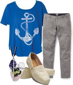 """Anchor"" by wherecoconutgrows on Polyvore"