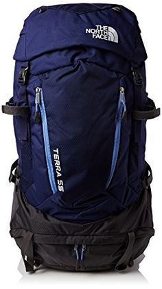 North Face Terra 55 Womens Hiking Backpack Patriot Blue Persian Jewel    Check this awesome product by going to the link at the image. 02c63f5125d0
