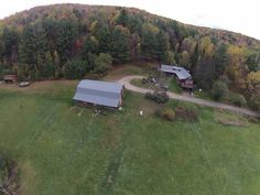 Horse Property for Sale in Washington County in Vermont. This one of a kind property has a magnificent large log cabin on 58+/- open and wooded acres with a large barn, large equipment shed, garden areas, lovely brook, and panoramic views of the surrounding mountains. On a 4 season town maintained driveway with hiking and snowshoeing trails right on the property.