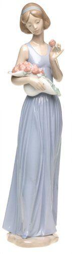 Nao by Lladro Porcelain Figurine: My Little Bouquet | http://www.cybermarket24.com/nao-my-little-bouquet-porcelain-figurine/