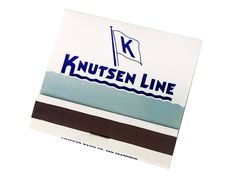 Knutsen Line Matchbook Passenger Ship Freight Liner Freighter Matchcover Ship Advertisement Strike on Front Matches Matchbook 30 Unused by CollectionSelection on Etsy