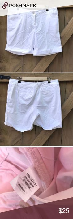 J. Jill size 12 white shorts: 7 in inseam J. Jill size 12 white shorts: 7 in inseam: BIN 12 J. Jill Shorts