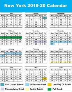 Spring Break 2022 Calendar.15 Nyc School Holidays Calendar Ideas School Holiday Calendar Holiday Calendar School Holidays
