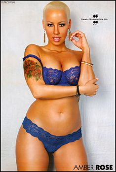 American Actress recording artist, actress and socialite. Amber Rose ...hollywood celebrity...