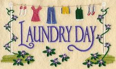 Laundry day via Carol's Country Sunshine on Facebook