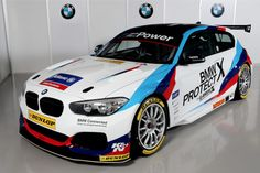 BMW will be returning to the BTCC with a racing M Sport, after 21 years. The German company has partnered with the West Surrey Racing team, which races from 2007 Bmw M Series, Bmw Design, Vinyl For Cars, Bmw M1, Bmw Love, 2017 Bmw, Pretty Cars, New Bmw, Bmw Motorcycles