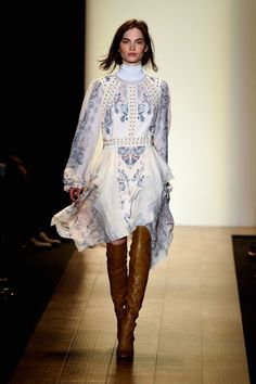 The Dresses We Want Now From The NYFW Runways BCBG http://georgiapapadon.com/