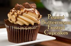 Our Family secret is out! How to make amazing peanut buttercream frosted chocolate cupcakes