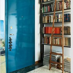 gorgeous lacquered door