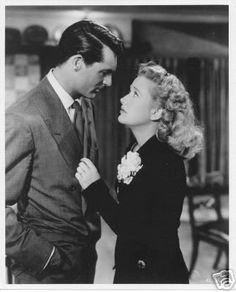 Cary Grant and Priscilla Lane  - Arsenic and Old Lace (1944)