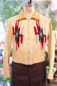 vintage 40's chimayo jacket