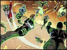Injustice: Gods Among Us - Year 2 - Episode 11  #injusticeyear2 #superman #greenlantern #batman #dcuniverse #madefire #motionbooks #comics #art