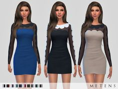 Sims 4 CC's - The Best: Preslava Dress by Metens