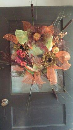 Fall wreath that I did.