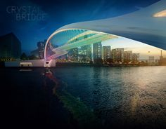 15 Designs for a New London Bridge Look Straight Out of a Sci-Fi Movie! - Neatorama