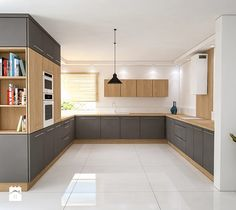 Contemporary style kitchen designs are among the methods to go. You do not require a complicated kitchen so it will be stick out, just some unique designs that can make your kitchen area the envy of the neighbors. Kitchen Room Design, Modern Kitchen Design, Home Decor Kitchen, Interior Design Kitchen, New Kitchen, Home Kitchens, Kitchen Cupboards, Küchen Design, Beautiful Kitchens