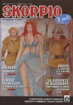Fumetti EDITORIALE AUREA, Collana SKORPIO ANNEE 37 - 201331