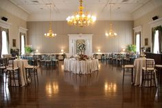 Hibernian Hall | Designed by Engaging Events | Charleston SC Wedding