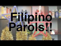 ▶ How to Make: Filipino Holiday Stars!! Parol!! - YouTube