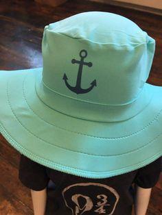 3d6c68555e125 UPF 50 Kids Custom Sun Hat with custom design by Swimlids. Sun Hat for the