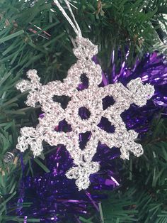 snowflake pattern by Marika Gilbourne