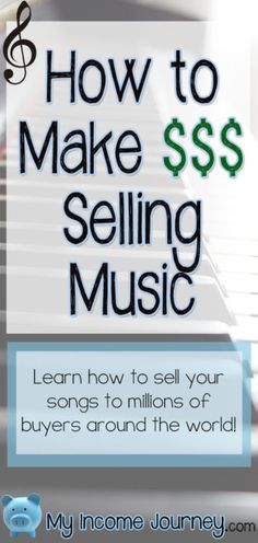 Learn how to make money selling sheet music online! It's an awesome way to get passive income flowing. Sell vocal, instrumental, religious, etc. Learn how here: http://www.myincomejourney.com/portfolio-item/how-to-make-money-selling-sheet-music/