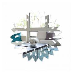 Okrúhle nalepovacie zrkadlo na stenu Table, Furniture, Home Decor, Decoration Home, Room Decor, Tables, Home Furnishings, Home Interior Design, Desk
