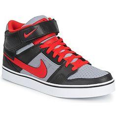 Nike MOGAN MID 2 SE Negro / Gris / Rojo