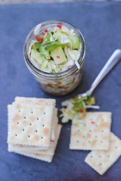 Green Tomato Chow Chow Recipe foodieaholic.com #recipe #tomato #appetizer