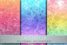 Crystallix by Digital Art Creations on @creativemarket