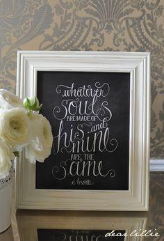 38 best Chalkboard decorations images on Pinterest | Graduation ...