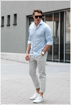 Chinos are perfect for a summer vacation!