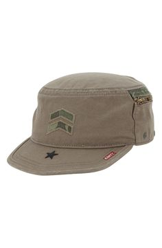 A. Kurtz  Camo Fritz  Military Cap available at  Nordstrom Military Cap 11400bbee444