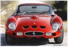 Ferrari 250 GTO by Pininfarina designer Maurizio Corbi