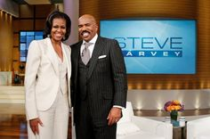 Steve Harvey Interviews President Obama