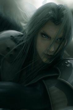 Sephiroth. Final Fantasy VII: Advent Children Complete.