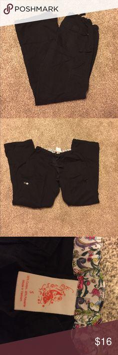 Koi black Lindsey style bottoms Black koi scrub pants. Size small koi Pants