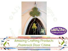 St. Patrick's Day Door Chime made with PLAID® Paints