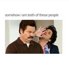 somehow i am both of these people #tumblr #parksandrec