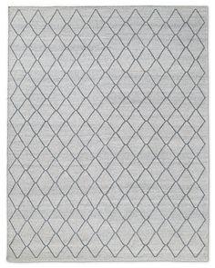 RH Fonda Rug - Light Grey $1815 sale 10x14 flatweave