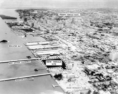 1959 – Miami Herald relocation plans - Amazing Midcentury Photographs of Miami Page 2 of 2 Best of Web Shrine Miami Photos, Vintage Air, City Photo, Nostalgia, Florida, Mid Century, How To Plan, Amazing, Retro