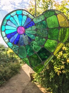 Stained Glass Ornaments, Stained Glass Suncatchers, Stained Glass Crafts, Stained Glass Patterns, Stained Glass Windows, Stone Mosaic, Mosaic Art, Mosaic Glass, Fused Glass