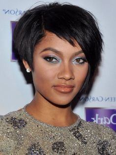 Black Short Hairstyles Pictures for Women