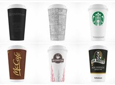 coffee paper cup psd packaging mock up template