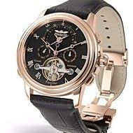 Perigaum 1972 Excalibur Men's Second Time Zone Time Zones, Beautiful Watches, Automatic Watch, Stainless Steel Case, Rose Gold Plates, Chronograph, Omega Watch, Men Casual, Mens Fashion
