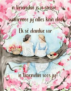 Birthday Wishes Gif, Birthday Qoutes, Goeie Nag, Goeie More, Afrikaans Quotes, Friendship Quotes, Inspirational Quotes, School, Cards