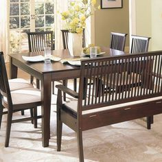 I've been searching for a square, 8-person, standard height dining table for a LONG time. (Hilton Dining Table with Butterfly Leaf $405.98)