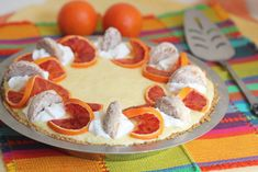 From Fresh Food in a Flash - Tangerine Chiffon Pie    Prep 30 mins   Bake 15 mins   Chill 2+ hours   Eat 2:45    This Tangerine Chiffon Pie is a light airy delicious wonder with a...
