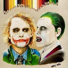 Color pencil drawing by Christian Vega